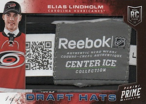 2013-14 Panini Prime Hockey Darft Hats