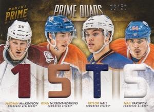 2013-14 Panini Prime Hockey Quads