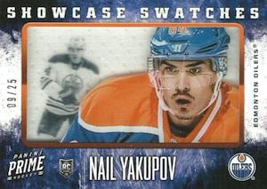 2013-14 Panini Prime Hockey Showcase Swatches Yakupov