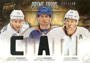 2013-14 Panini Prime Hockey Trios