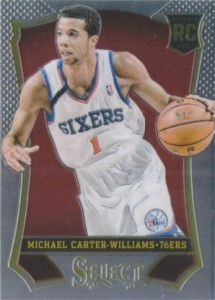 2013-14 Panini Select Michael Carter-Williams RC #190