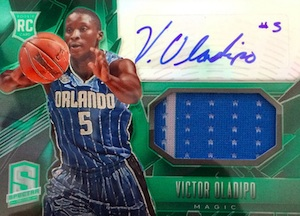 2013-14 Panini Spectra Victor Oladipo RC #124 Autographed Jersey
