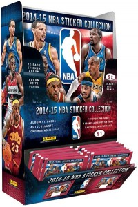 2014-15 Panini NBA Stickers Combo DIsplay Box
