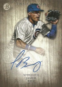 2014 Bowman Inception Prospect Autographs Javier Báez #PA-JB