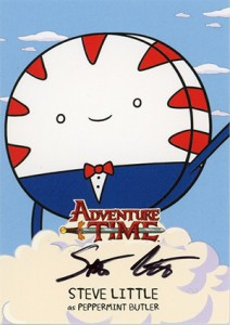 Mathematical! 2014 Cryptozoic Adventure Time Autographs Gallery, Guide 7