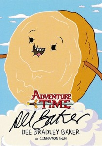 Mathematical! 2014 Cryptozoic Adventure Time Autographs Gallery, Guide 9