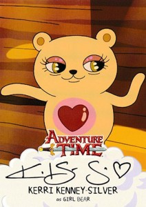 Mathematical! 2014 Cryptozoic Adventure Time Autographs Gallery, Guide 19