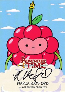 Mathematical! 2014 Cryptozoic Adventure Time Autographs Gallery, Guide 2