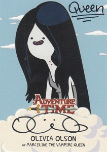 Mathematical! 2014 Cryptozoic Adventure Time Autographs Gallery, Guide 12