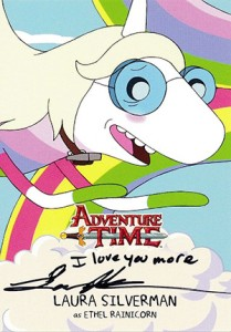 2014 Cryptozoic Adventure Time Autographs A5