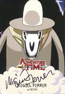 Mathematical! 2014 Cryptozoic Adventure Time Autographs Gallery, Guide 13