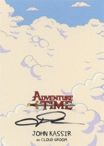 Mathematical! 2014 Cryptozoic Adventure Time Autographs Gallery, Guide 14