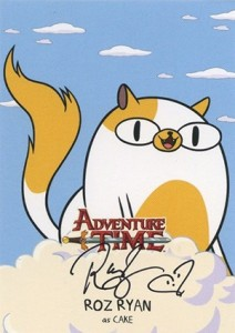 2014 Cryptozoic Adventure Time Autographs A9