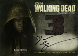 2014 Cryptozoic Walking Dead Season 3 Part 2 Autographed Wardrobe