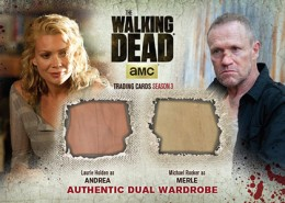 2014 Cryptozoic Walking Dead Season 3 Part 2 Dual Wardrobe