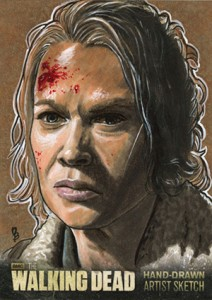 2014 Cryptozoic Walking Dead Season 3 Part 2 Sketch Card
