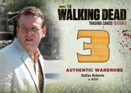 2014 Cryptozoic Walking Dead Season 3 Part 2 Wardrobe Card