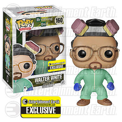 2014 Funko Pop Breaking Bad 160 Walter White EE Exclusive