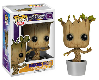 2014 Funko Pop Guardians of the Galaxy 65 Dancing Groot