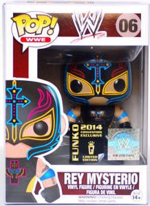 2014 Funko Pop WWE Rey Mysterio SDCC Exclusive