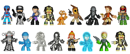 2014 Funko Science Fiction Mystery Minis Lineup