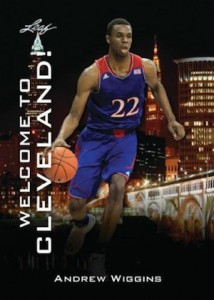 2014 Leaf National Convention Andrew Wiggins