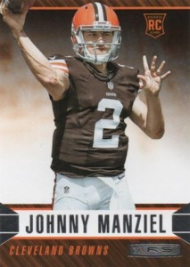 2014 Panini Rookies & Stars Football Base Rookies Johnny Manziel RC