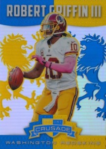 2014 Panini Rookies & Stars Football Crusade Blue Robert Griffin III
