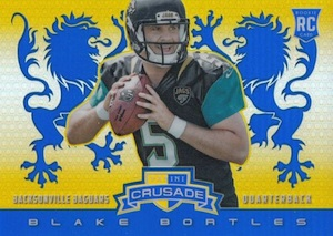 2014 Panini Rookies & Stars Football Rookie Crusade Blue Blake Bortles
