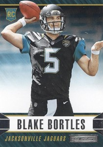 2014 Panini Rookies and Stars Football 110 Blake Bortles