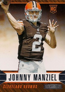 2014 Panini Rookies and Stars Football 153 Johnny Manziel