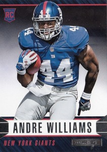 2014 Panini Rookies and Stars Football Variations 106 Andre Williams