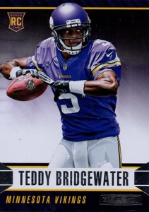 2014 Panini Rookies and Stars Football Variations 188 Teddy Bridgewater