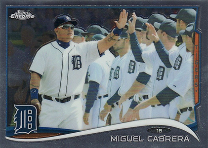 Sorting Out the 2014 Topps Chrome Baseball Variations 49