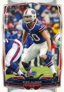 2014 Topps Football Variation Short Prints Guide 40
