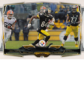 2014 Topps Football Variation Short Prints Guide 80