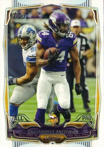 2014 Topps Football Variation Short Prints Guide 140