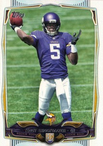 2014 Topps FB 367 Teddy Bridgewater