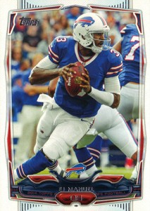 2014 Topps Football Variation Short Prints Guide 64