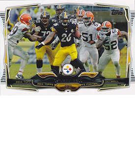 2014 Topps Football Variation Short Prints Guide 118