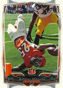 2014 Topps Football Variation Short Prints Guide 57