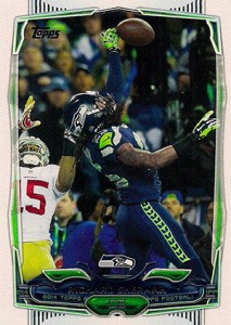 2014 Topps FB Variations 22 RIchard Sherman