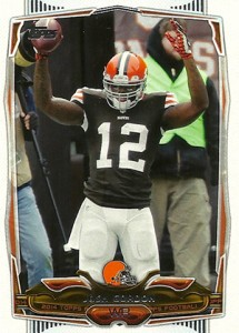 2014 Topps Football Variation Short Prints Guide 97