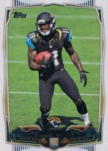 2014 Topps Football Variation Short Prints Guide 244