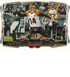 2014 Topps Football Variation Short Prints Guide 107
