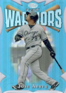2014 Topps Finest Baseball Warriors Jose Abreu