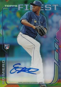 2014 Topps Finest Baseball Rookie Autographs Gallery, Guide 5