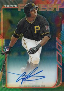 2014 Topps Finest Rookie Autographs Gregory Polanco