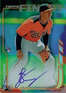 2014 Topps Finest Baseball Rookie Autographs Gallery, Guide 9