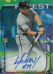 2014 Topps Finest Baseball Rookie Autographs Gallery, Guide 21